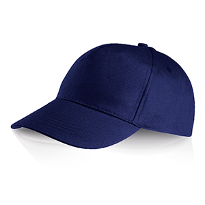 Cappellino 5 pannelli Ocean Breeze by Legby - PERRY D15571 - Blu Navy