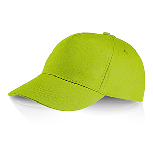 Cappellino 5 pannelli Ocean Breeze by Legby - PERRY D15571 - Lime