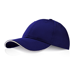 Cappellino 6 pannelli Ocean Breeze by Legby - TYLER D15572 - Blu Royal